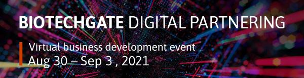 Biotechgate Digital Partnering August 2021