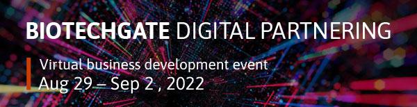 Biotechgate Digital Partnering August 2022